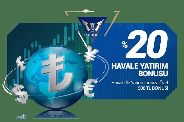 %20 HAVALE YATIRIM BONUSU
